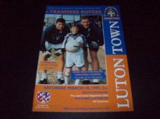 Luton Town v Tranmere Rovers, 1994/95